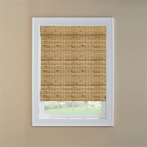 Bamboo Window Shades Shop Custom Size Now By Levolor Bamboo Light