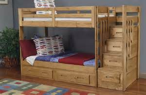 Bunk Bed With Stairs Plans Bunk Bed Plans With Stairs Home Design Ideas
