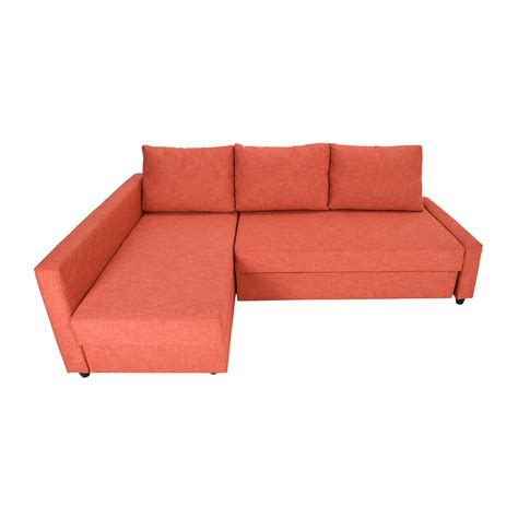 ikea friheten sleeper sofa sofa orange ikea creative of orange sleeper sofa with