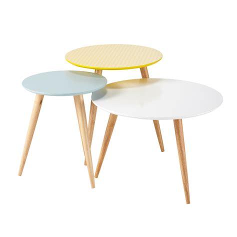Table Vintage Maison Du Monde by Fjord 3 Tables Gigognes Rondes Vintage Maisons Du Monde