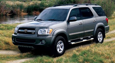 2005 toyota sequoia history pictures sales value research and news
