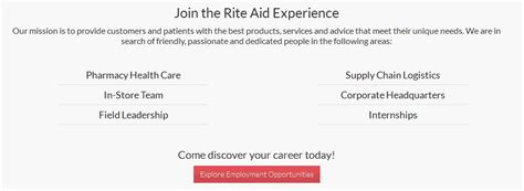 printable job application for rite aid how to apply for rite aid jobs online at www riteaid com