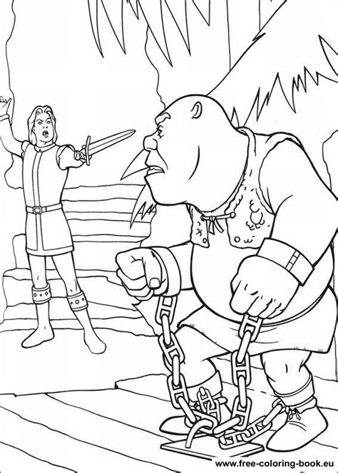 coloring pages shrek page 2 printable coloring pages