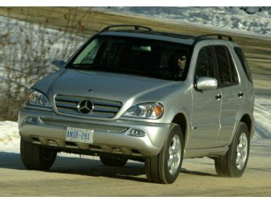 2004 mercedes suv 2004 mercedes m class base a5 suv ratings prices