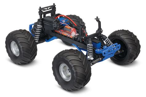 bigfoot summit monster traxxas bigfoot summit silver or firestone blue rc hobby pro