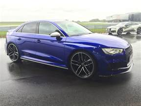 audi rs3 sedan and hatch gearing up for production