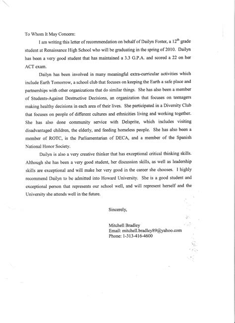 Recommendation Letter For Lecturer Academic Recommendation Letter Sle For Lecturer Compudocs Us