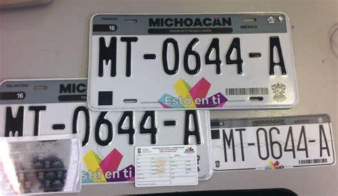 requisitos para pago de engomado y placas michoacan 2016 sfa m 243 dulos de rentas en morelia l 237 an su horario de