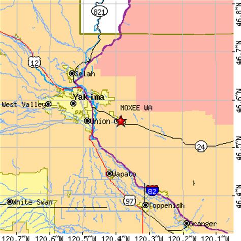zip code map yakima wa moxee washington wa population data races housing