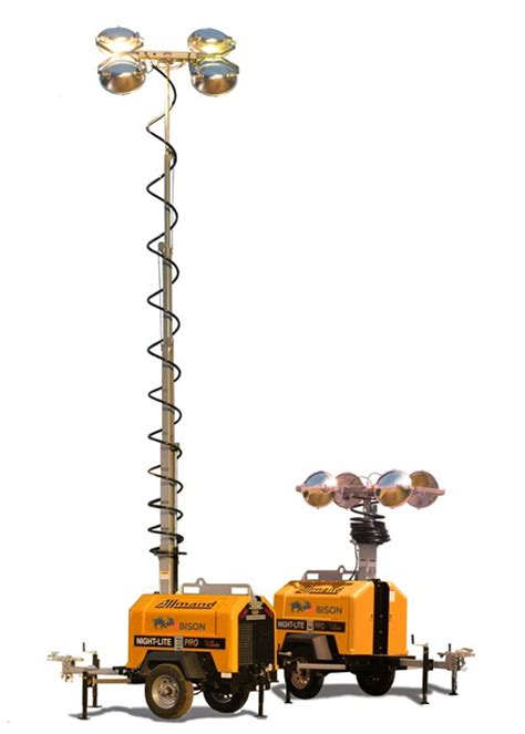Allmand Light Tower by Uk Distributor For Allmand