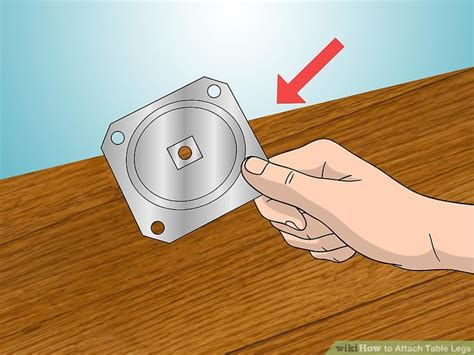 how to table legs how to attach table legs 12 steps with pictures wikihow