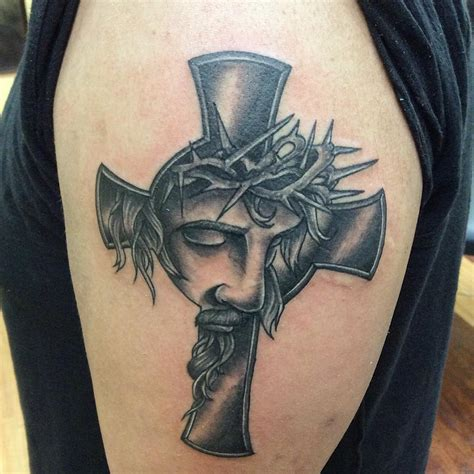 crown and cross tattoo christian ideas and inspiration chhory
