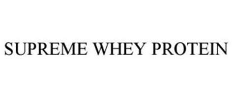 supreme whey protein supreme whey protein trademark of dymatize enterprises