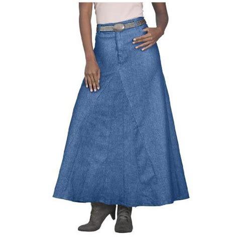 maxistyling 187 denim 24 7 plus size denim skirt for