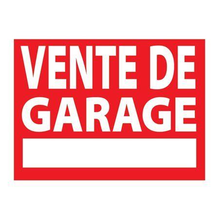 vente de box garage buropro affiche en plastique vente de garage