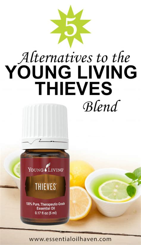 Best Quality Yl Essential Thieves Waterless Purifier 5 Ml 5 alternative blends to living thieves
