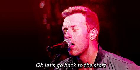 coldplay back to the start coldplay gifs wifflegif
