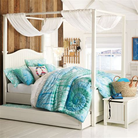 pb teen beds bedroom ideas canopy bed with contemporary design