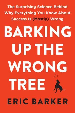 barking up the wrong tree a bluff point free books books