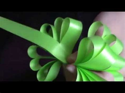 vomo hacer flores en cinta de agua como hacer lazos con cinta de agua youtube