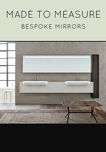 Made To Measure Bathroom Mirrors Illuminated Bathroom Mirror Bathroom Mirrors With Lights Livinghouse