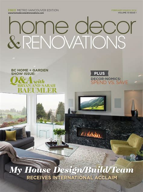 vancouver home decor vancouver home decor renovations feb mar 2014 by