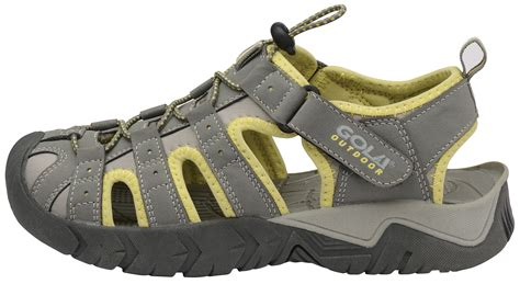 womens trekking sandals gola outdoor new closed toe hiking sports shoes ebay
