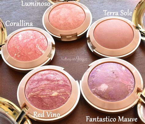 Blush On makeupbyjoyce review swatches milani baked blushes