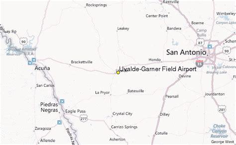 uvalde map uvalde garner field airport weather station record