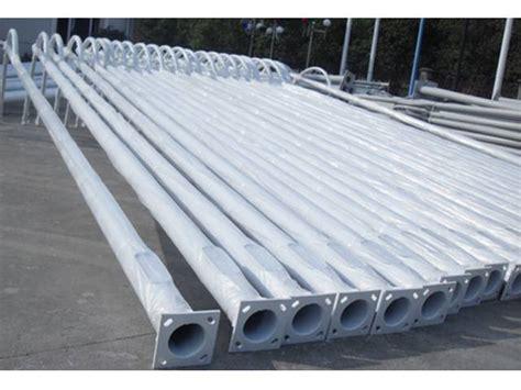 pali zincati per illuminazione la zincatura a spruzzo per prevenire la ruggine dei pali d