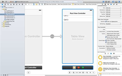 xcode delegate tutorial ios finding the center of a view stack overflow