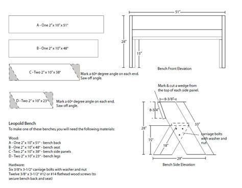 aldo leopold bench plans woodworking oklahoma city ok diy woodworking projects
