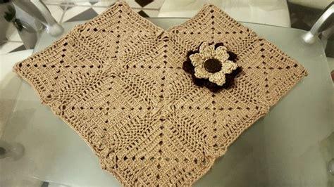 manualidades paso a paso tejido a crochet capas poncho capa 243 chalina paso a paso en crochet v 237 deos de