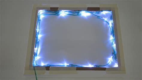 Led Light Box by 3d Silhouette Light Box Make