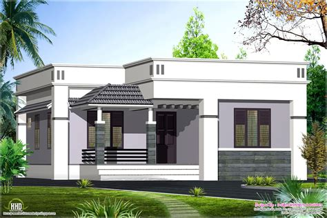 One Floor House by One Floor House Design 1100 Sq Home Kerala Plans