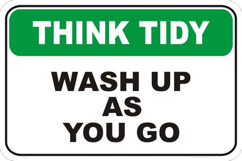 Kitchen Tidy Ideas by Pics For Gt Wash The Dishes Signs