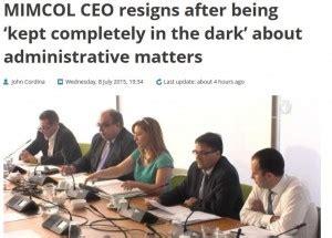 Resignation Letter Malta You Should Read This Shocking Resignation Letter Caruana Galizia S Notebook Running