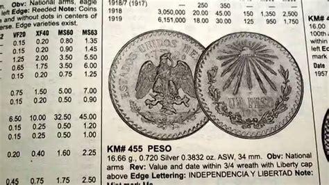 valor de monedas antiguas mexicanas valor de las monedas mexicanas youtube