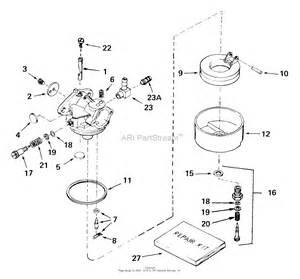 tecumseh ca 631957a parts diagram for carburetor