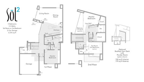 springs floor plans sol palm springs homes a new luxury development in palm