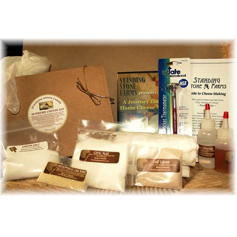 gifts for cooks supreme cheese making kit dvd great gifts for cooks