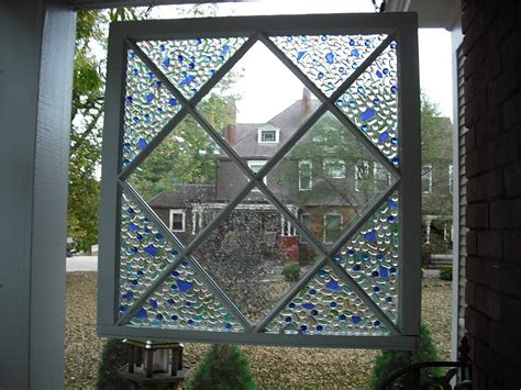 Decorative Window Panes by Make A Decorative Mosaic Window 187 Dollar Store Crafts