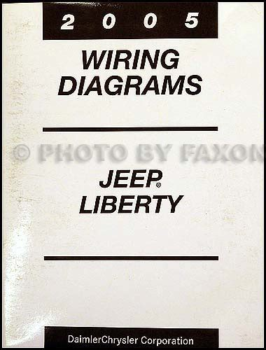 2005 jeep liberty wiring diagram 2005 jeep liberty repair shop manual original 2 vol set