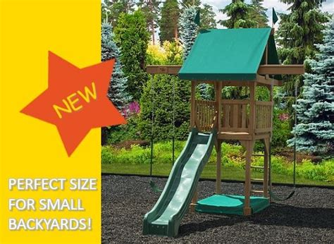 Playsets For Small Backyards by Pin By Dale On Backyard Ideas