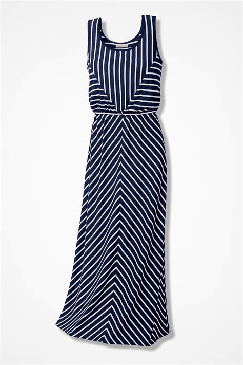 Striped Maxi striped maxi dress coldwater creek