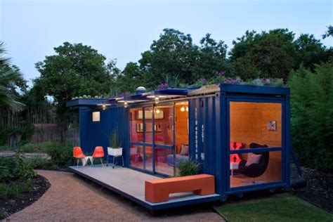 Outdoor Patio Restaurants Austin Shipping Container Guest House