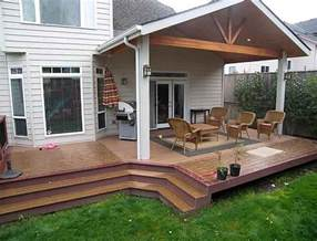 covered deck ideas partially covered deck ideas home design ideas in
