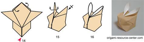 Origami Balloon Bunny - origami balloon bunny