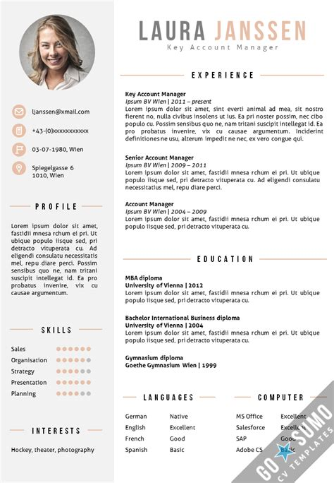 resume model 19 30 free beautiful templates to download hongkiat