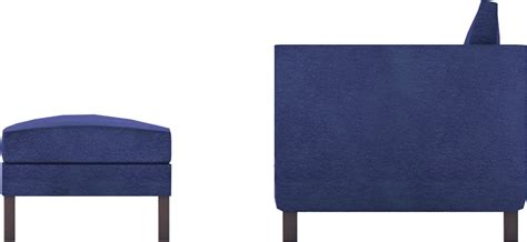 ikea karlstad armchair cad and bim object karlstad footstool and armchair ikea